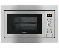 Zanussi ZSG25224XA 900 Watt Microwave Built In Stainless Steel New from AO