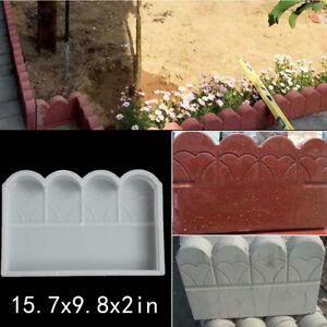 Plastic Making DIY Paving Mould Home Garden Floor Road Concrete Molds 42x25x5cm^