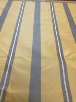 Scalamandre Silk Stripe Tafetta Fabric upholstery drapery 15 Yards