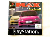 56490 Instruction Booklet - Max Power Racing - Sony PS1 Playstation 1 (1998) SLE