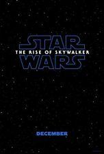 Star Wars The Rise of Skywalker - original DS movie poster - 27x40 D/S Advance