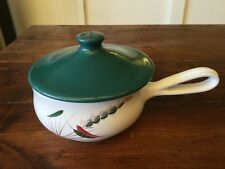 Vintage Denby Greenwheat Casserole Dish with Lid (2)
