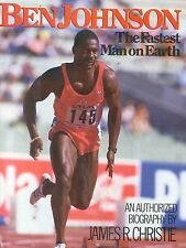 Ben Johnson Fastest Man On Earth Track Field Book