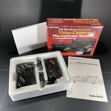 RADIO SHACK FM WIRELESS VIDEO CAMERA MICROPHONE SYSTEM 32-1226 NEW IN BOX