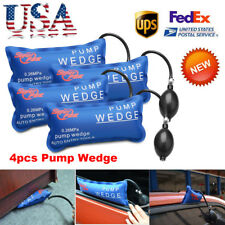 4pcs/set Inflatable Air Pump Wedge Bag Automotive Hand Tool for Car Window door