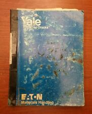 YALE ERPT 030 OPERATION AND PARTS MANUAL, ITD-1338