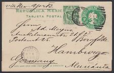 MEXICO, 1904. Post Card H&G 116, 305, SLP - Hamburg