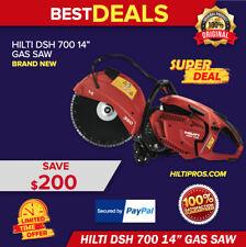 Hilti Gas Saw Dsh 700 14 Hand Held Brand New Original Box With One Blade