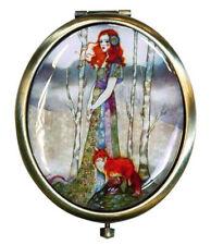 Ladies Stylish Compact Mirror - Santoro London
