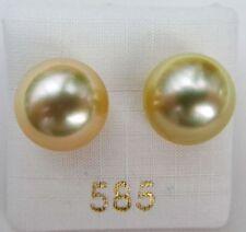 Perlen-Ohrschmuck mit Butterfly-Verschluss für Damen und die Südsee Sets