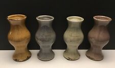 Vases Muliple Color Set NEW ! Earth Tones with Crackle Glaze