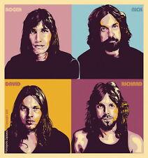 "002 Pink Floyd - English Rock Band Music Star 14""x15"" Poster"