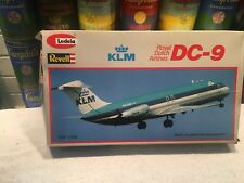 Revell Lodela 1:120 DC-9 KLM Royal Dutch Airplane Kit - new & unassembled