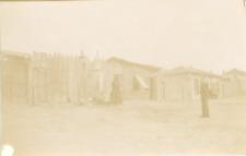Bulgarie, Varna, cabanes, ca.1900, Vintage citrate print Vintage citrate print
