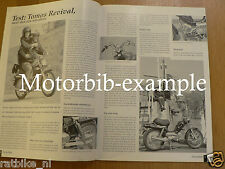 BRO0205-MONARK HISTORY,BM JAGUARINO,TOMOS REVIVAL,POSTER ROTTERDAM 1965,MOFA,