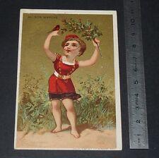 CHROMO 1880-1900 AU BON MARCHE ARISTIDE BOUCICAUT PARIS ANGLETERRE HOUX