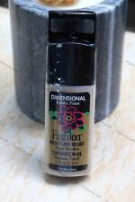 Fashion Plaid Dimensional Fabric Paint 32.5ml  Shiny Camel non toxic ink new