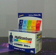 MULTICENTRUM UOMO 50+ INTEGRATORE MULTIVITAMINICO MULTIMINERALE 30 CPR