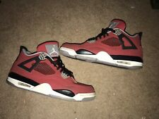 Air Jordan 4 IV Retro Toro Bravo Fire Red 308497-603 Cement Red White Size 13