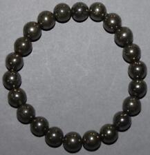 "Bracelet Pyrite 8 mm ""Large"""