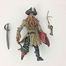 Pirates of the Caribbean Captain Davy Jones Action Figure LOOSE Sword Heart Key