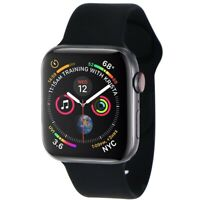 Apple Watch Series 4 (44mm) A1976 (GPS+ LTE) - Space Gray Alum/Black Sport Band