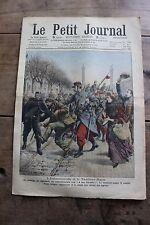 Petit journal illustré N°960 1909 Antimilitarisme Fanatisme musulman Kerbéla