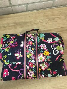 VERA BRADLEY Changing Pad Clutch in Retired Ribbons Breast Cancer Print
