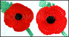 Knitting/Crochet Pattern POPPY POPPIES Armistice Remembrance Day British Legion