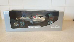 MINICHAMPS / F1 - MERCEDES GP W01  - M.SCHUMACHER- 1/18 SCALE -110 100003