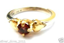 James Avery Retired 14kt Gold/.925 Gemstone Ring~ Gorgeous Color! Sz 6.5