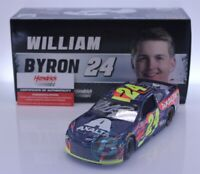 WILLIAM BYRON #24 2019 AUTOGRAPHED AXALTA 1/24 SCALE NEW IN STOCK FREE SHIPPING