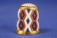 Royal Crown Derby China/Porcelain Collectable China Sewing Thimbles