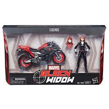 "Marvel Legends 6"" ULTIMATE BLACK WIDOW & DELUXE MOTORCYCLE WAVE 1 NEW IN STOCK"