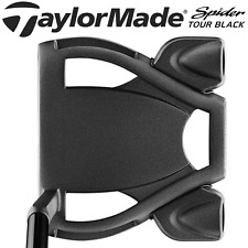 "TAYLORMADE SPIDER TOUR BLACK 35"" PUTTER & HEADCOVER - AS USED BY DUSTIN JOHNSON"