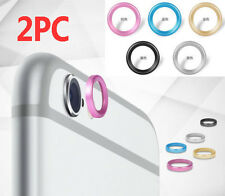 2× iPhone 6 6S 7 Plus Back Camera Metal Lens Protective Ring Cover Protector