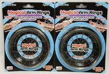 Lot of 2 Magical Arm Rings Toy Flow Ring Kinetic Fidget Spring Stress Relief B18