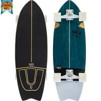 "SKATEBOARD Slim SURF SKATE PRO Cruiser Maverick 78,74 cm 31"" ABEC-9  Wood  NEW"