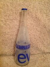 Rare Jean Paul Gaultier Evian Glass Bottle 750ml Collectable