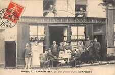 CPA 60 COMPIEGNE MAISON E.CHARPENTIER RESTAURANT JEANNE D'ARC (cpa rare