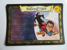 Harry Potter Hufflepuff Match Holo Foil No 3 Promo Trading Card Excellent Wizard