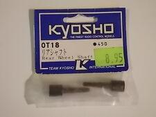 OT-18 Rear Wheel Shaft - Kyosho Optima Mid Outrage Tracker Ultima Pure Ten TF-3