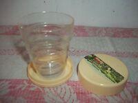 "Souvenir Trinkbecher-Klappbar-Plastik "" Thermal Bath Sulzbach "" Folding Cup"