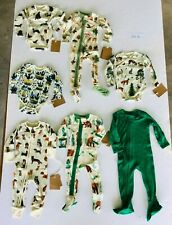 3M NEW Earthy Organic Cotton Baby Clothes Gender Neutral Manufacturer 2nds LOT K