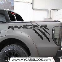 Ford Ranger Wildtrak logo side bed graphics decal sticker