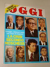 OGGI=1978/4=ALIGHIERO NOSCHESE=LUIGI TENCO=ALFASUD=NOVA SIRI=ZERO RENATO=BAZAR=