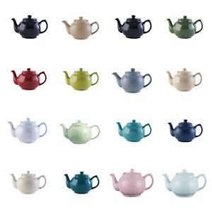 Teapot tea pot ceramic 2 cup retro traditional tea pot 22 assorted colours