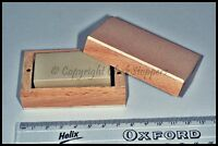 Fine Hard Oil Stone Sharpening Watchmakers Engineers Box Screwdriver Gravers