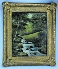 "Wonderful early 1900's ""Mountain String"" landscape, signed. (BI#MK/170822)"