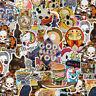 100 Random Skateboard Stickers Vinyl Laptop Luggage Decals Dope Sticker Lot Mix